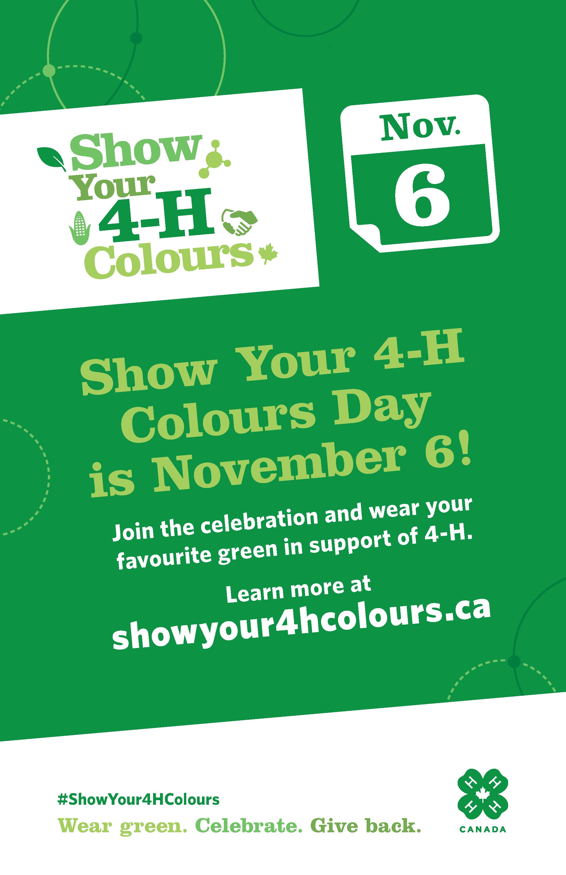 Show Your 4-H Colours Day_11x17_EN
