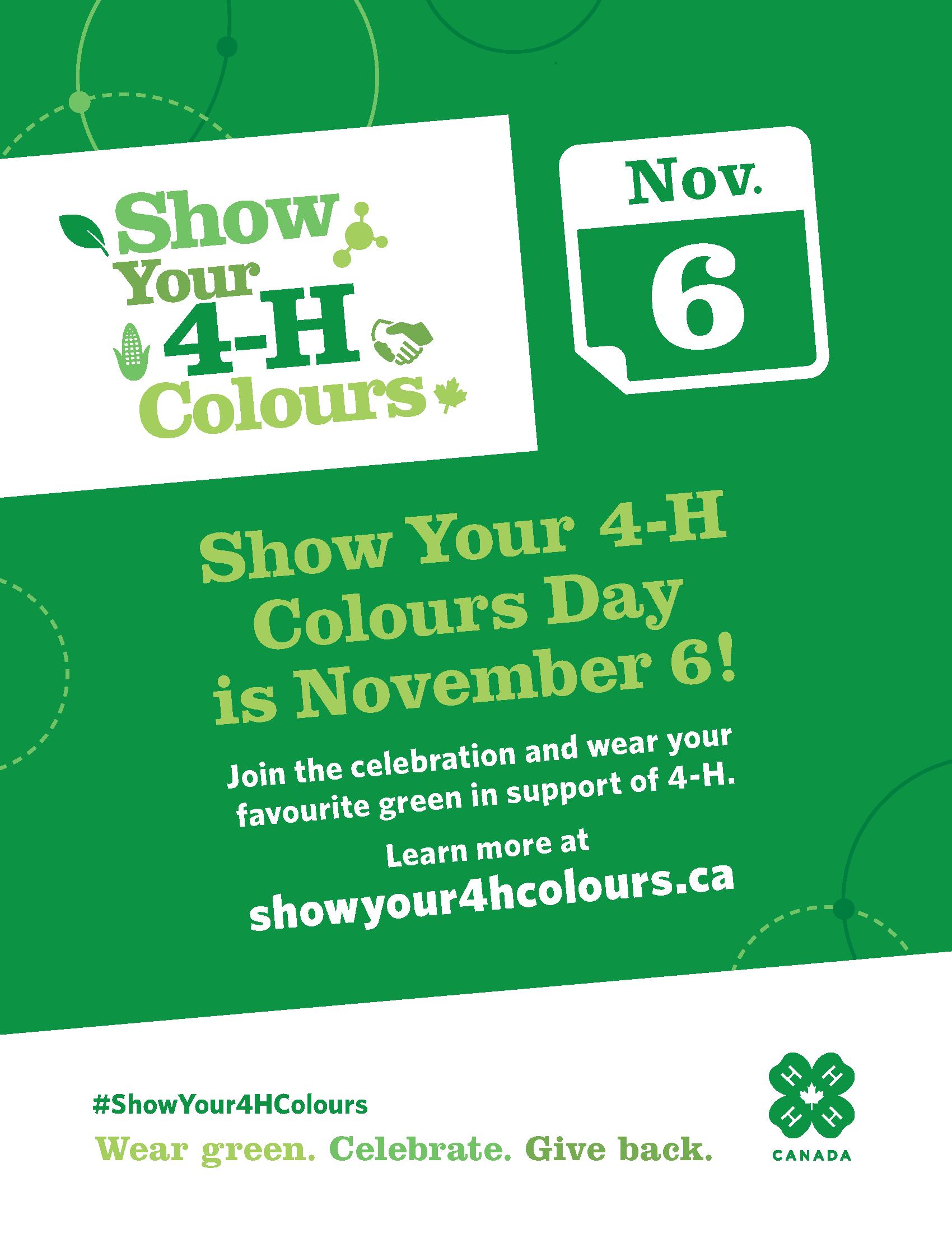 Show Your 4-H Colours Day_8.5x11_EN