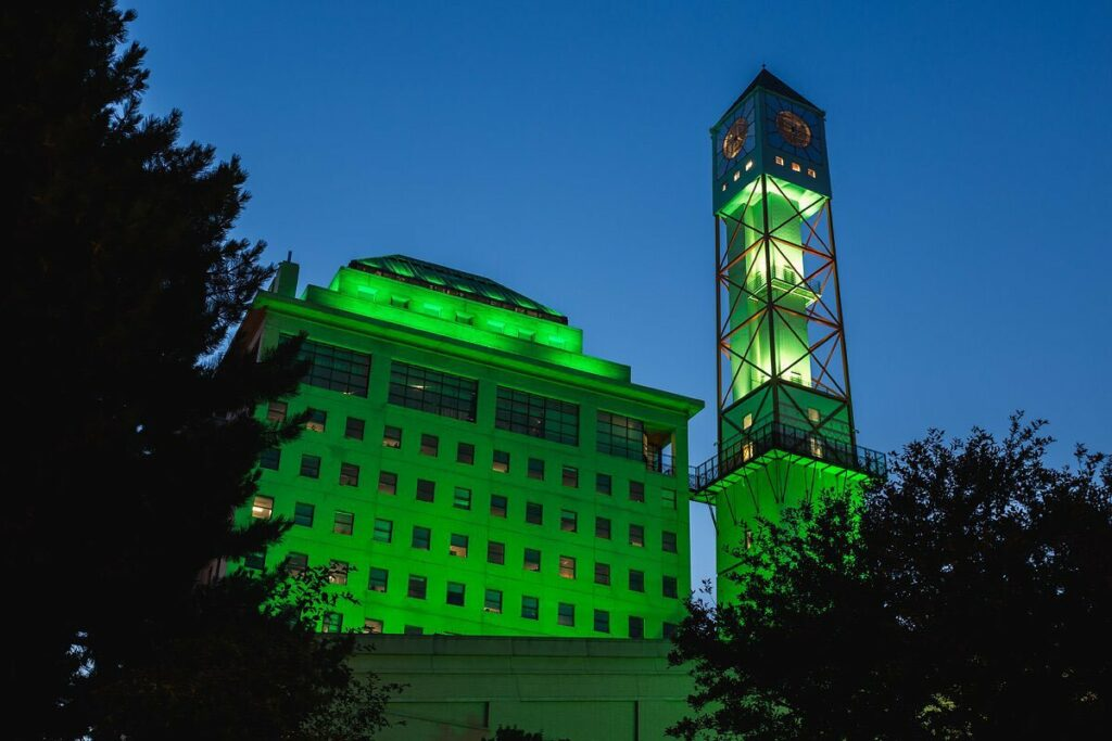 Civic Centre Clock Tower, Mississauga, ON - Courtesy of City of Mississauga