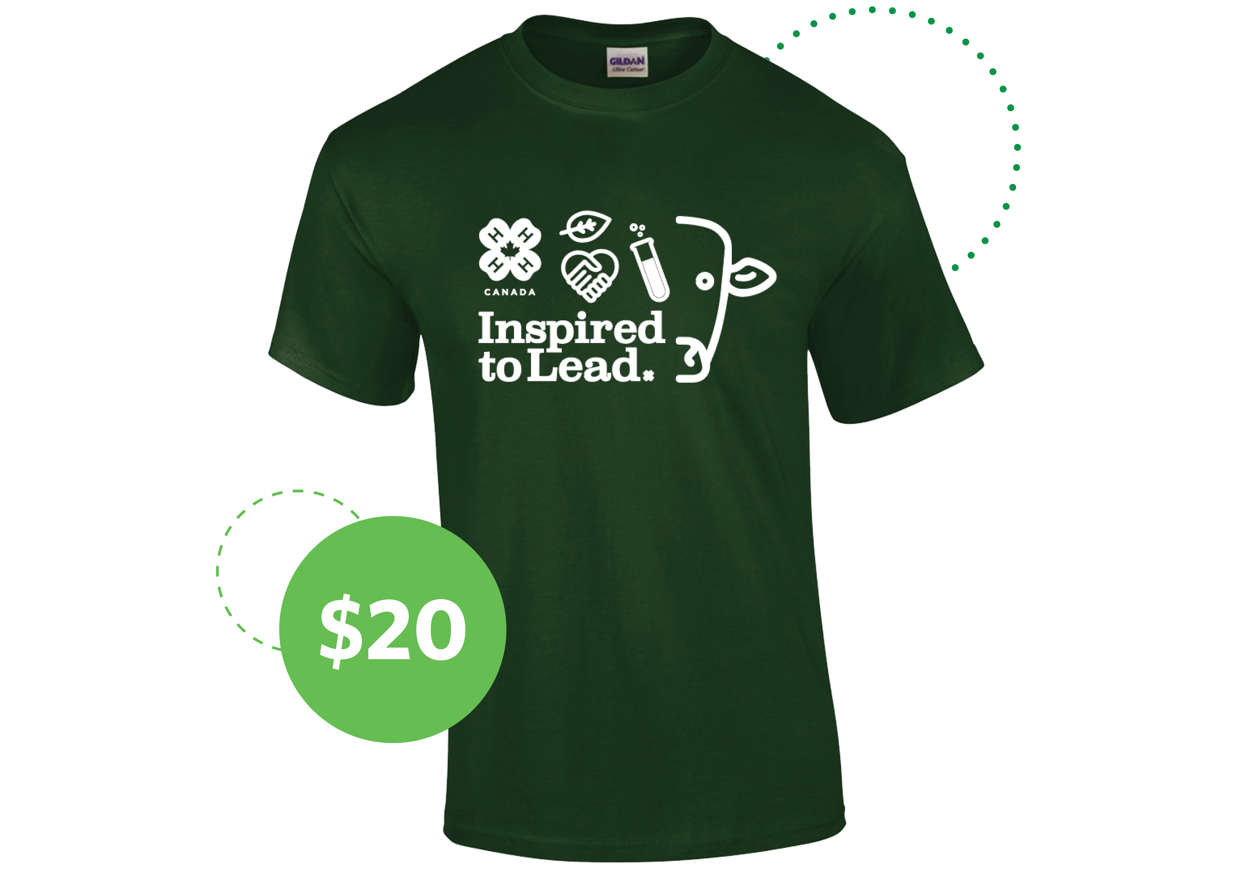 Inspired to Lead T-shirt